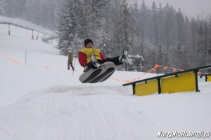 narty na Słowacji - snowpark